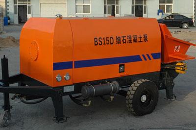 15m3 mini concrete pump