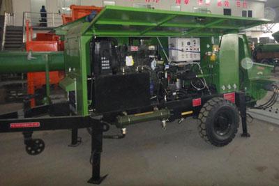 20m3 diesel concrete pump