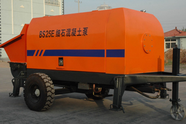 25m3/h small electric concrete pump