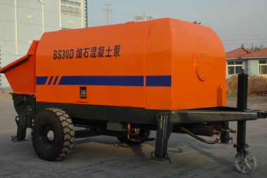 30m3/h small electric concrete pump