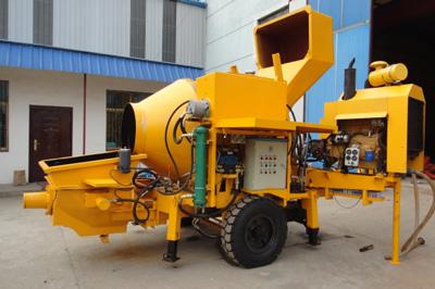 30m3/h diesel concrete mixer pump