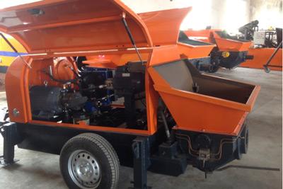 30m3/h diesel concrete pump