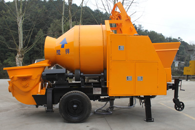 30m3 electric concrete mixer pump