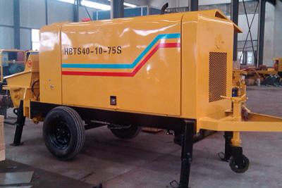 40m3/h small electric concrete pump