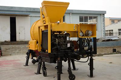 40m3/h diesel concrete mixer pump