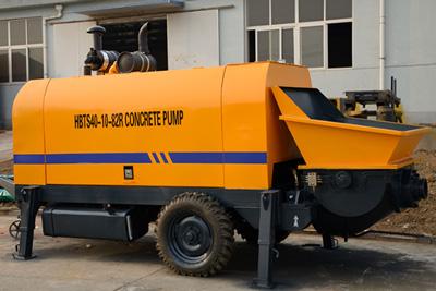 40m3h diesel concrete pump