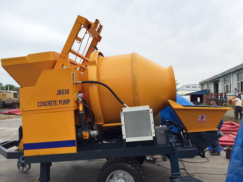ABJZ30D Electric concrete mixer pump for sale