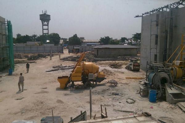 Aimix concrete mixer pump in Congo