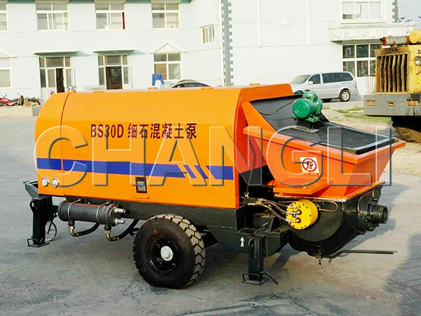 HBT-30 electric concrete pumps