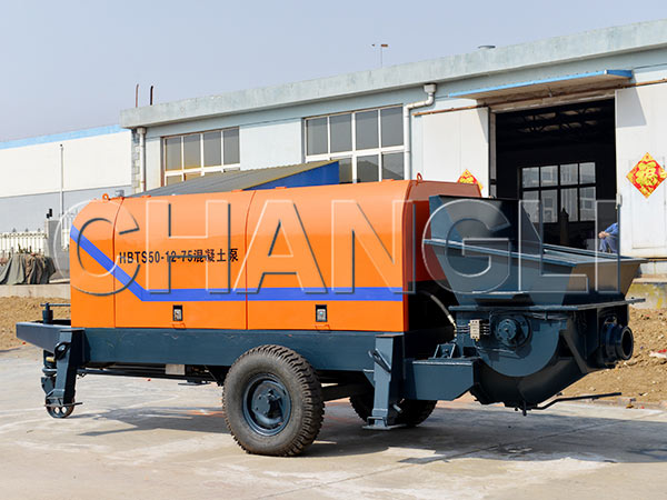 HBT-50 electric concrete pumps