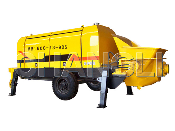 HBT-60 electric concrete pumps