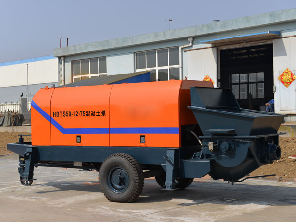 HBT portable concrete pump for sale