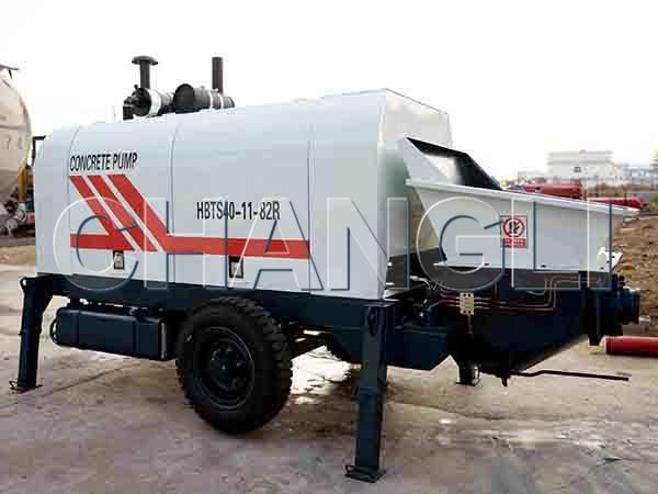 HBTS40 diesel concrete pumps