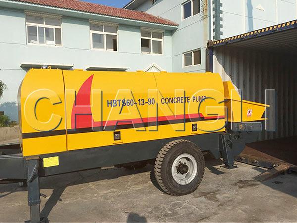 HBTS60 diesel concrete pumps