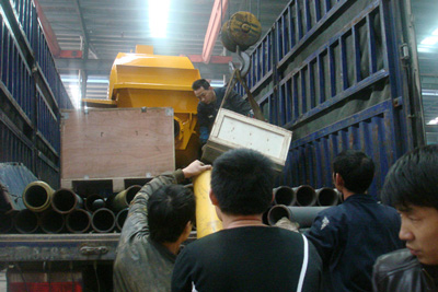 To be exported concrete pump