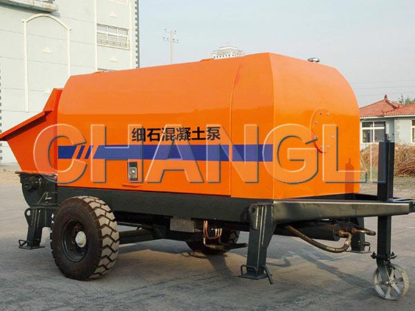 XHBT-25 diesel concrete pumps