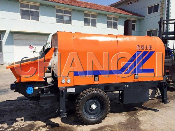 XHBT-30 diesel concrete pumps