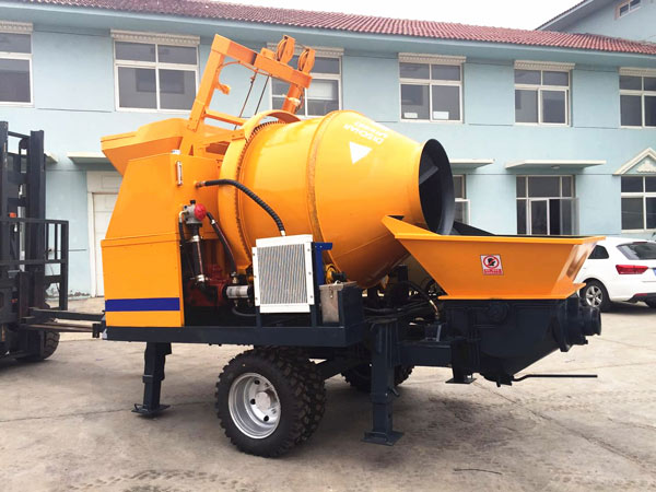 concrete mixer and pump manufacturers