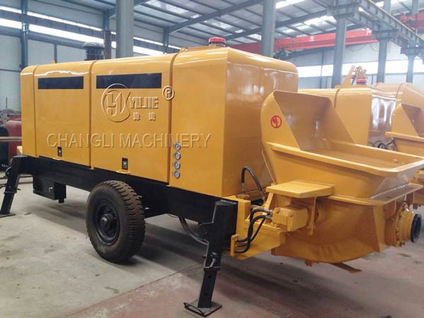 concrete pump electric picture