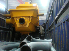 Changli Concrete Trailer Pump was Exported to Philippine