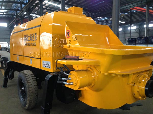 concrete pump images