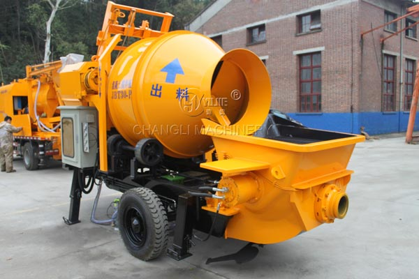 concrete pumps picture