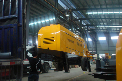 exported concrete pump packing