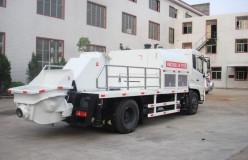 truck mounted concrete pump sale