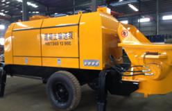 HBTS60 concrete trailer pump