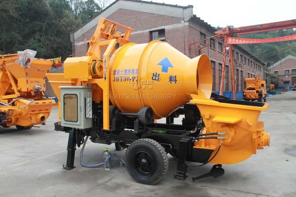 JBT30 concrete mixer pump
