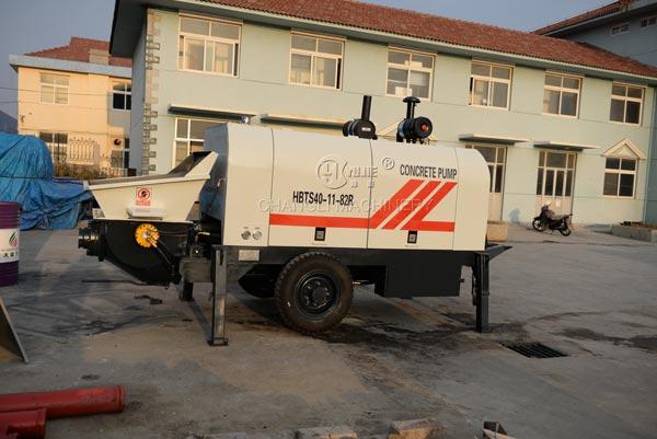 concrete trailer pumps pictures