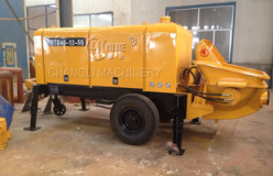electric concrete triler pumps