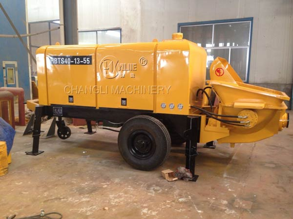 small concrete pump pictures