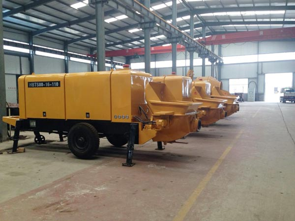 stationary cement pump