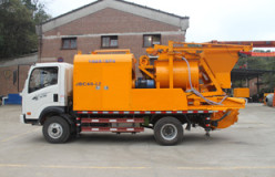 truck mounted cement pumps
