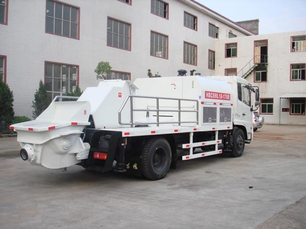 truck mount cememt pump