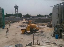 Changli Concrete Mixer Pump was Exported to Congo