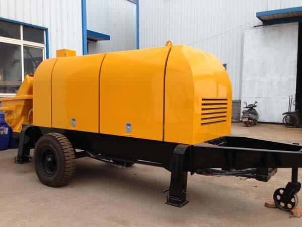trailer cement pump