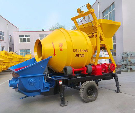 JBT concrete trailer pump