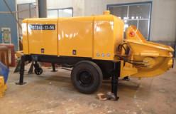 mini concrete pump machine