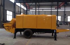 changli concrete trailer pumps for sale