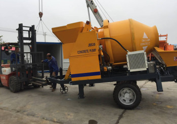 Changli JBS30 Concrete Mixer with Pump was Sent to Sierra Leone