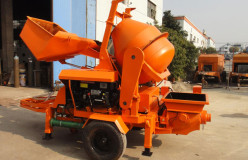 JBS10 concrete mixer and pumps manufacturer