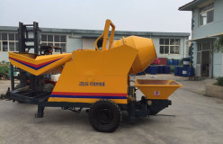 JBS10 electric concrete pump and mixer