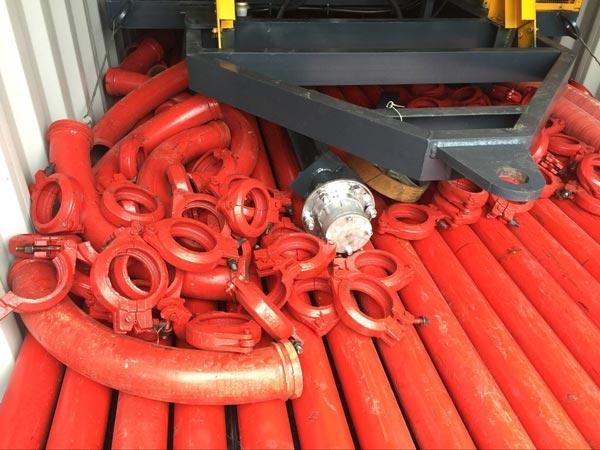 spare parts of JBS concrete mixer pump
