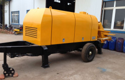 trailer mounted concrete pumps price