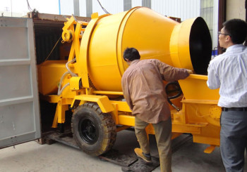 Changli Concrete Mixer Pump was Delivered to South Africa