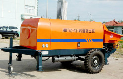 HBT small portable concrete pump