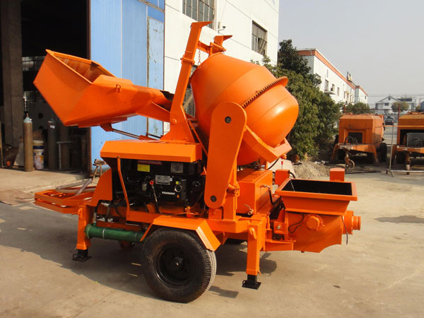 JBS10 cement mixer and pump