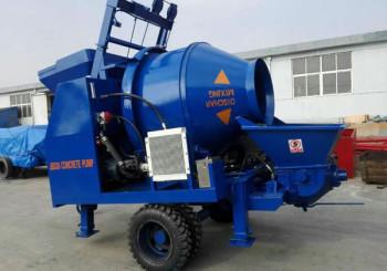 Aimix ABJZ30D Concrete Mixer Pump Sent to Bangladesh